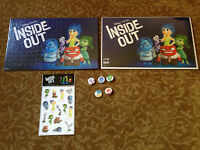 Disney Pixar Inside Out 2 x  Puzzle, Stickers, Pin (ALL5) official promo items