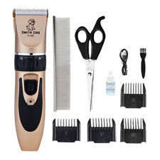 Dog Grooming Clippers Cat Hair Trimmer Kit Cordless Dog Clipper Low Noise w/Comb
