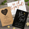 Premium Personalised Engagement Party Invitations Invites with Envelopes