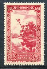 TIMBRE ALGERIE NEUF N° 174 ** OUED A COLOMB BECHARD AVEC LE RF