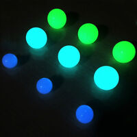 10Pcs Luminous Loose Round Beads Jewelry Making DIY Glow In Dark Crafts 6-12mm