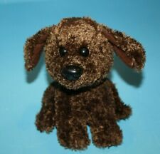 """Little Brownie Originals Plush Dog 6"""" Sit Girl Scouts Brown Stuffed Soft Kid Toy"""