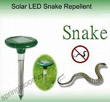 NEU SOLAR überschalle Welle  LED Maulwurfschreck Schlange Schutz Verstreiben