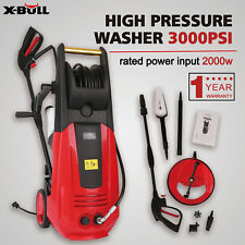 X-BULL High Pressure Washer 3000PSI 2000W 1.6 GPM Sprayer Cleaner