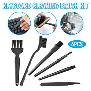 6Pcs/set Mini Computer Keyboard Cleaner PC Laptop Brush Dust Easy Cleaning Kit