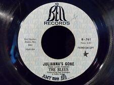 "Julianna's Gone/Mystery Smoke by The Bleus (Bell B-761) Promo 7"" VG"