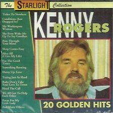 Kenny Rogers 20 Golden Hits CD New Sealed