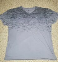 Marc Ecko Cut and Sew Mens Size XL Gray Cotton New York Graphic T-Shirt