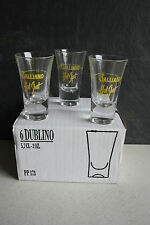 12 Galliano Hot-Shot-Gläser 5,7 cl Schnapsgläser Stamper