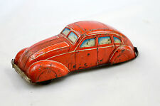 VINTAGE MADE IN WESTERN GERMANY TIN PLATE FRICTION CAR