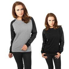 Feine Damen-Pullover mit Rundhals-Ausschnitt ohne Muster