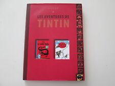 TINTIN ALBUM DOUBLE AVEC JAQUETTE TTBE LE LOTUS BLEU/AU TIBET