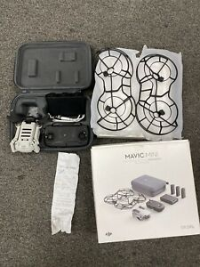DJI Mavic Mini Drone Fly More Combo Light Grey Excellent Condition Argos Reciept