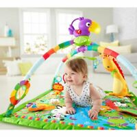 Fisher-Price - Deluxe Mobile Gym - Music & Lights - Rainforest