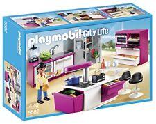 Playmobil 5582 Cuisine avec Ilot envoi Chronopost TNT 24h gratuit