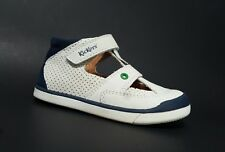Brand New $80 KICKERS Toddler Boys Shoes Sandals LEATHER Size 8 USA/24 EURO