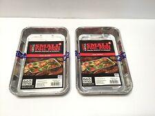 Expert Grill 3 Count Aluminum Foil Topper Bbq Sheet Veggies Grill Pans Lot of 2
