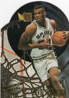 1995 FLEER BASKETBALL DIE CUT CARD # 10 / 10 - HOF DAVID ROBINSON - S.A. SPURS