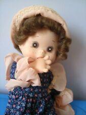 BAMBOLA DOLLY ZZ ZANINI & ZAMBELLI CORPO MORBIDO CM 32 VINTAGE anni 70 doll toy