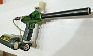 MacDev E-Type Paintball Marker Green With Early MacDev Air System