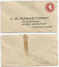 51212 - USA - Ganzsache - Umschlag - C.W. McNear & Company, Chicago