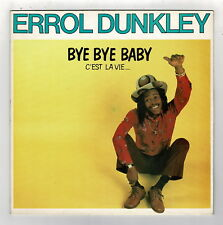 ERROL DUNKLEY-bye bye baby   celluloid LP   (hear)   reggae