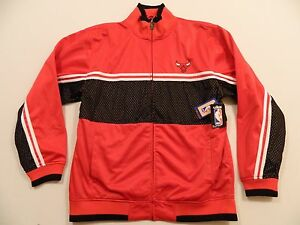 M83 NEW UNK Blue Label Chicago Bulls Track Jacket Men's 2XL HIGH QUALITY
