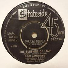 "Louis Armstrong(7"" Vinyl)The Sunshine Of Love-Stateside-SS 2116-UK-1968-Ex/Ex"