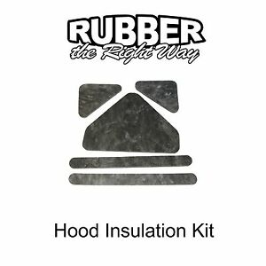 Late 1965 - 1966 Ford Thunderbird Hood Insulation Kit