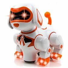 Interactive Robot Dog Kids Toy - Children's Pet Robot Puppy Toy Light & Sound