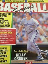 Toronto Blue Jays 3 Baseball Mags 90 Gruber 89 McGriff 87 Bell