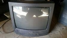 Sharp 19 inch CRT TV w A/V inputs retro gaming Model 19R-M100
