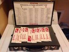 Hu-friedy Periodontal And Hygiene Instrument Case New 90 Tools At $13 Each