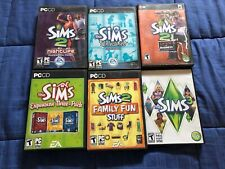 The Sims 2 & 3 HUGE PC Expansion Packs Game Bundle: Six Video Games