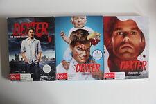 Dexter - Series 2 - 4 - 5 Full box sets. VGC