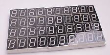 0.8inch 7 segment red LED display common cathode 50pcs