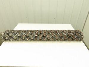 "48""W x 12' Hex Chain Link Steel Drag Mat Harrow Dirt Grading Landscape Leveling"