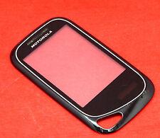 Original Motorola Wilder EX130 Touchscreen Digitizer Display Front Glas + Rahmen