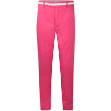 New Mens G/Fore GFore Blossom Pink Waist Stripe Tech Golf Pants 32x32 Trouser