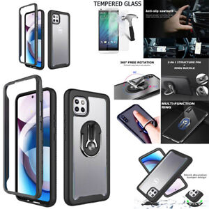"""Phone Case For Moto One 5G Ace (6.7"""") Shock Proof Heavy Duty Bumper Cover"""