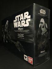 Star Wars Bandai S.H. Figuarts Scout Trooper & Speeder Bike ROTJ Display Case