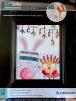 Counted Cross Stitch Kit Owl & Bunny Baby Theme Headdress Zweigart 14-ct Aida