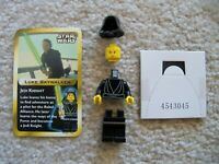 LEGO Star Wars - Rare Original - Jedi Luke Skywalker & Card - From 3341 - New