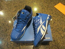 Reebok Baseball Cleats MLB Blue mid Hex Ride Metal NIB men's 13 1/2 High N II