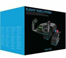 Logitech Saitek Pro Flight Yoke System with Throttle - Black