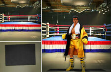 POSTER BACKDROP SHIPS ROLLD~BOXING RING~FOR 1/6 HOT TOYS FIGURES ALI ROCKY STORM