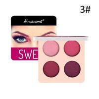 4 Farben Lidschatten-Palette Gepresste Funkeln-Verfassungs-Schimmer pigment Q4O6