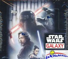 2018 Topps Star Wars Galaxy MASSIVE Factory Sealed 24 Pack Retail Box-144 Cards