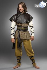 Medieval Man Kostüm Mittelalterkostüm für Herren Fasching Karneval Komplett Set