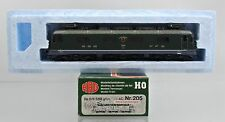 HAG HO SCALE 205 SWISS SBB Re 6/6 GREEN ELECTRIC ENGINE #11689